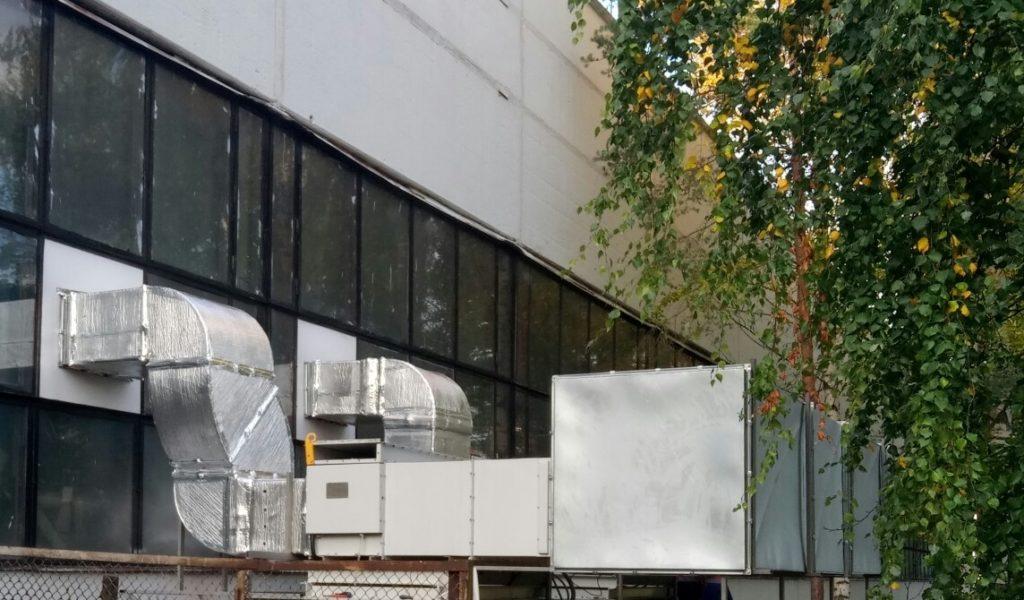 Испытания Универсальных климатических установок на Ленинградской АЭС